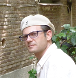 author photo, Tobias Hecht, white male in hat and glasses