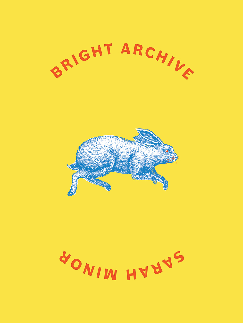 yellow book cover with illustration of a rabbit